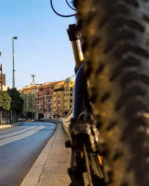There is an End for Everything ..But I don't See any,,,..🚴‍♀️🍃... (Downtown Beirut)