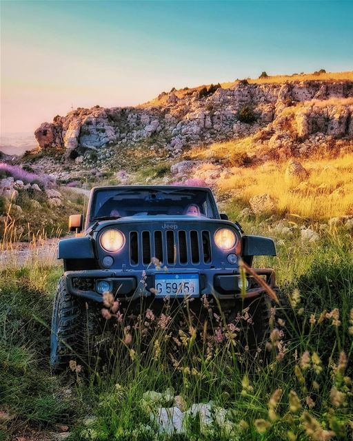 lebanon  offroad  offroading  jeep  sunset  mountains  scenery  sunsets ...