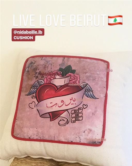 Live Love Lebanon 🇱🇧shop local ❤️ Write it on fabric by nid d'abeille ...