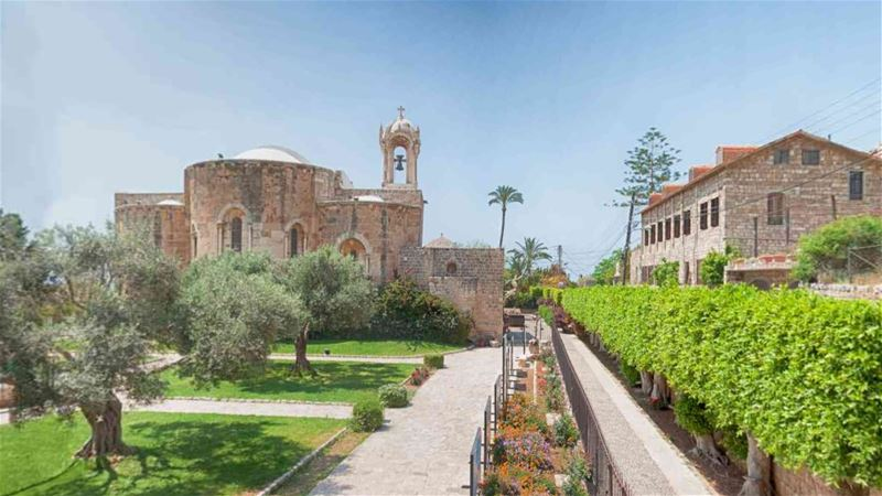 Saint John Church Byblos Panoramic 360 Interactive View