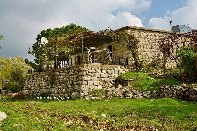 Mashnaga  mashnaga  amchit district  oldhouses  lebanon  naturre ...