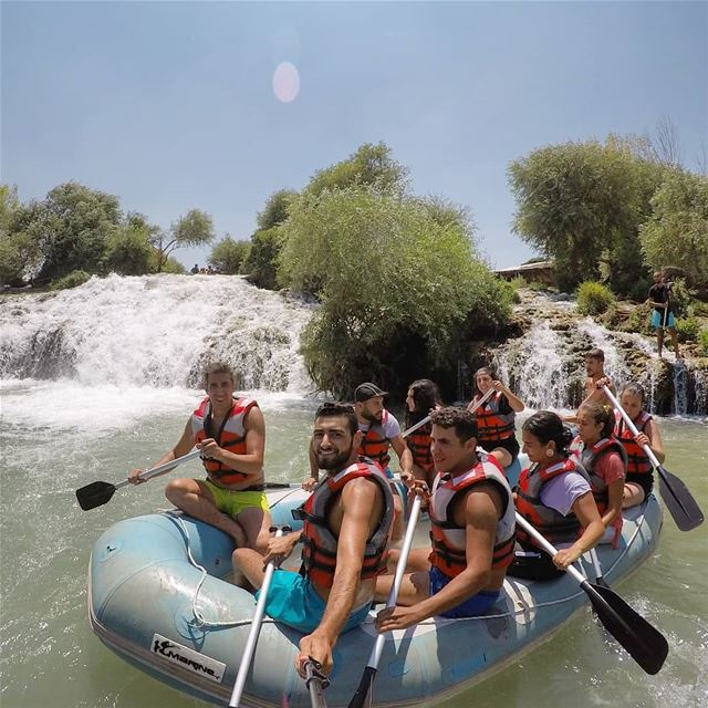 Sunday  funday!Credits to @joe_kosseify fun  raftingtrip  assiriver ... (El Hermel, Béqaa, Lebanon)