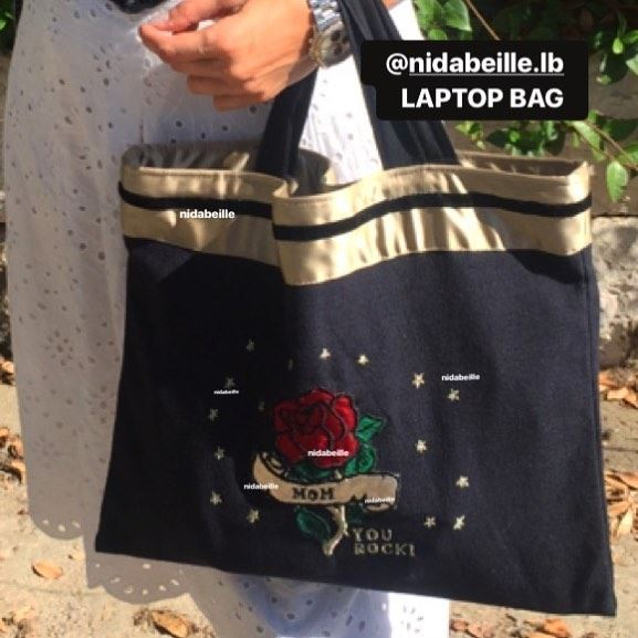 Working mom 🎈you ROCK! Write it on fabric by nid d'abeille  supermom ...
