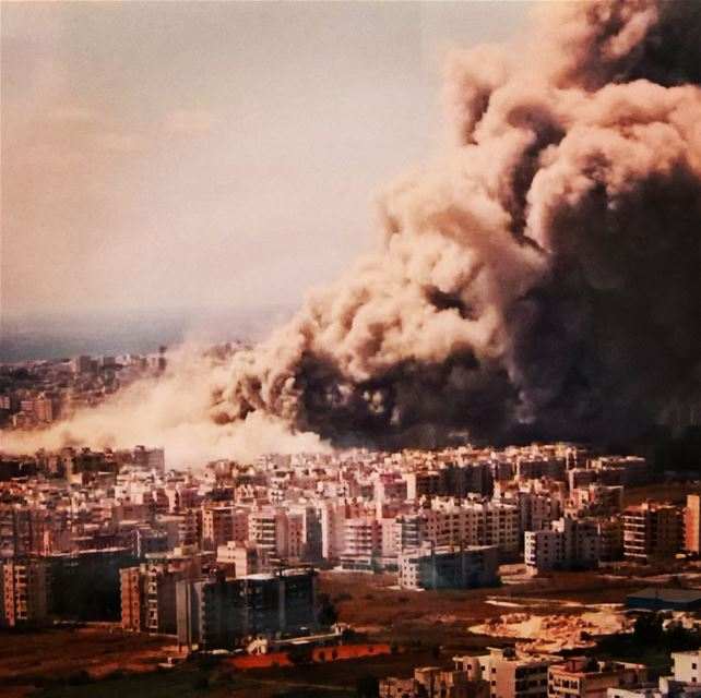 israel bombing civilians in  beirut August2006  war  lebanon  aviation ... (Beirut, Lebanon)