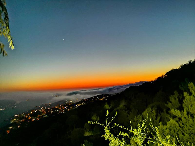 sunset from  douwar  lebanon  cloudysky  sunset_vision  livelovelebanon ...