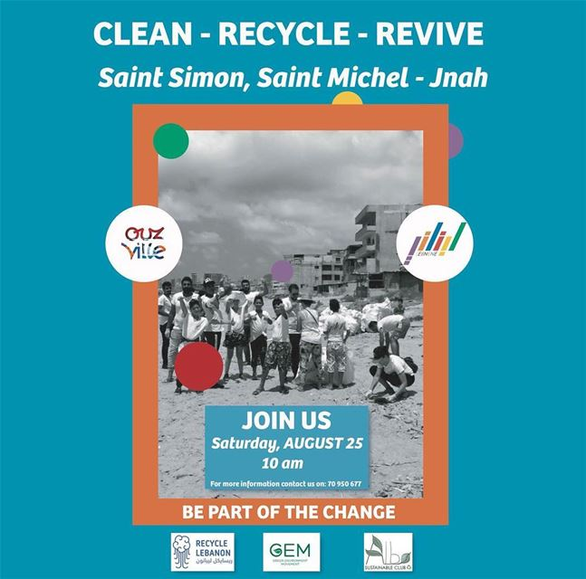 DiveIntoAction on Saturday the 25th of August, to clean the beach of Jnah...