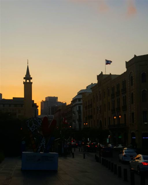 Eid Mubarak to everyone celebrating ............ Lebanon ... (Downtown Beirut)