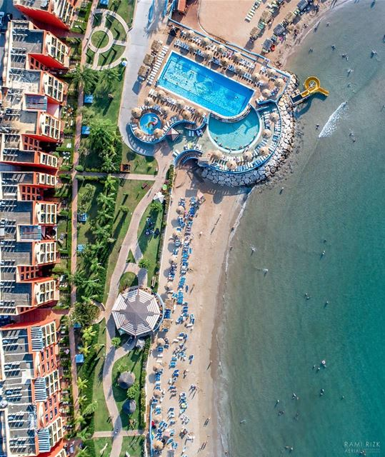 Not sure if it's Miami or Chekka 🏖️...  chekka  hamat  lebanon  dji ... (Chekka)