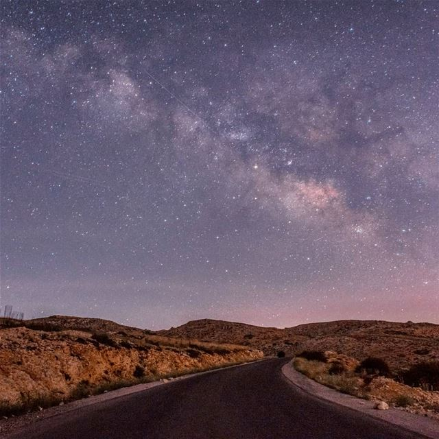 The River of Heaven ••• astrophotography  universetoday  milkyway ... (Lebanon)