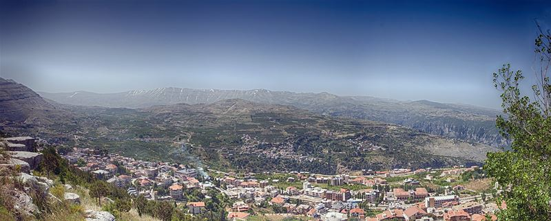 Panoramic View of Ehden
