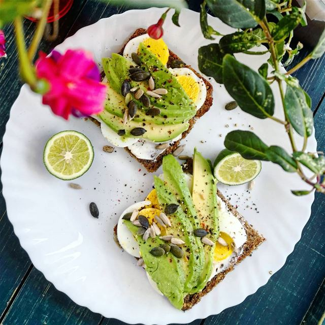 Happy Saturday! Avocado toast that never disappoints for the late...