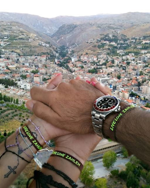 You give loyalty, you'll get it back. You give love, you'll get it back ~... (Zahlé, Lebanon)