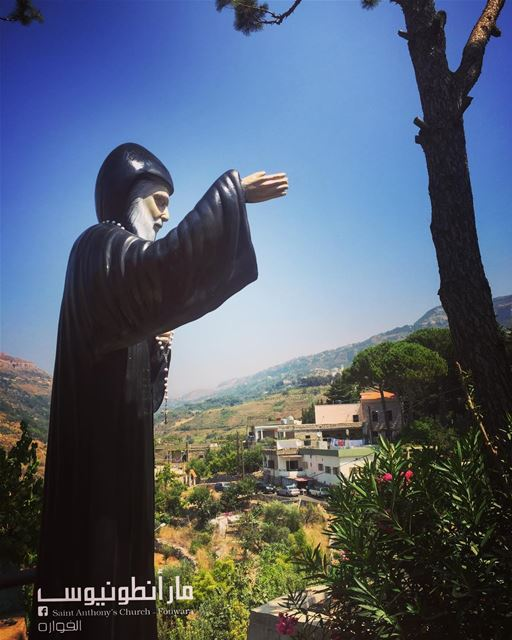 Have an amazing week with the  blessings of  saintcharbel from  fouwara ...