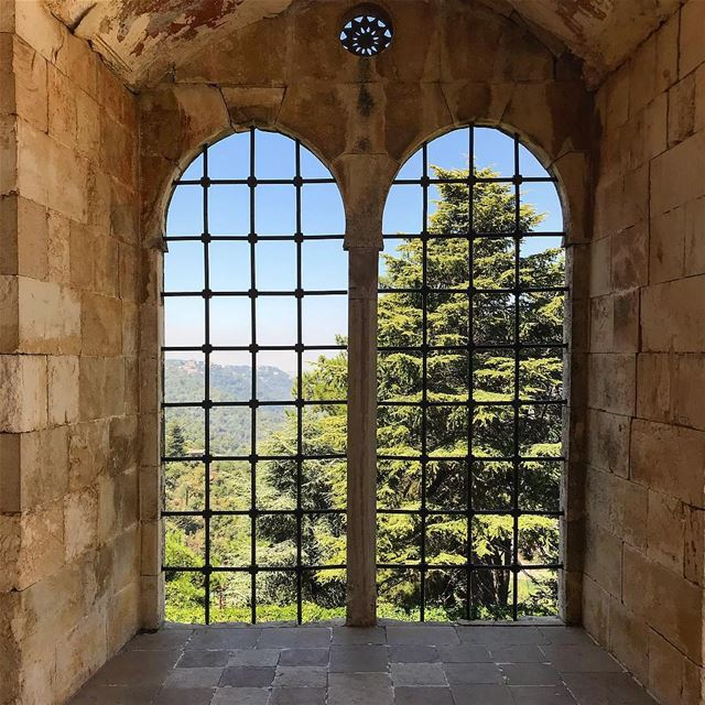 Freedom is a state of mind lebanon  lebanese  livelovelebanon ... (Beiteddine Palace)