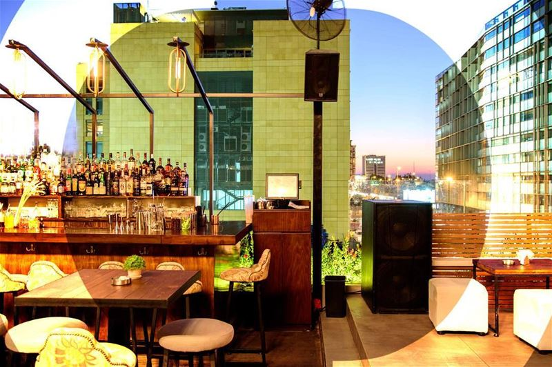 Overlooking the beautiful Beirut coast, Our rooftop is the place to be!... (Jackieo)