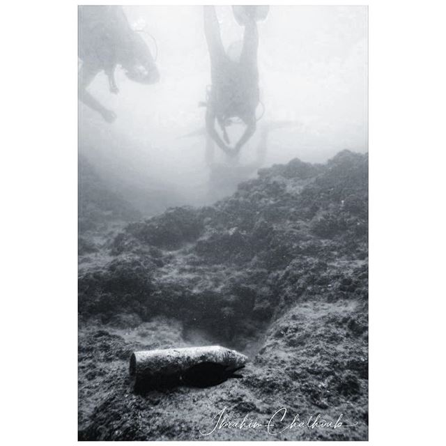 Underwater rocket shell -  ichalhoub in  Batroun north  Lebanon shooting ...