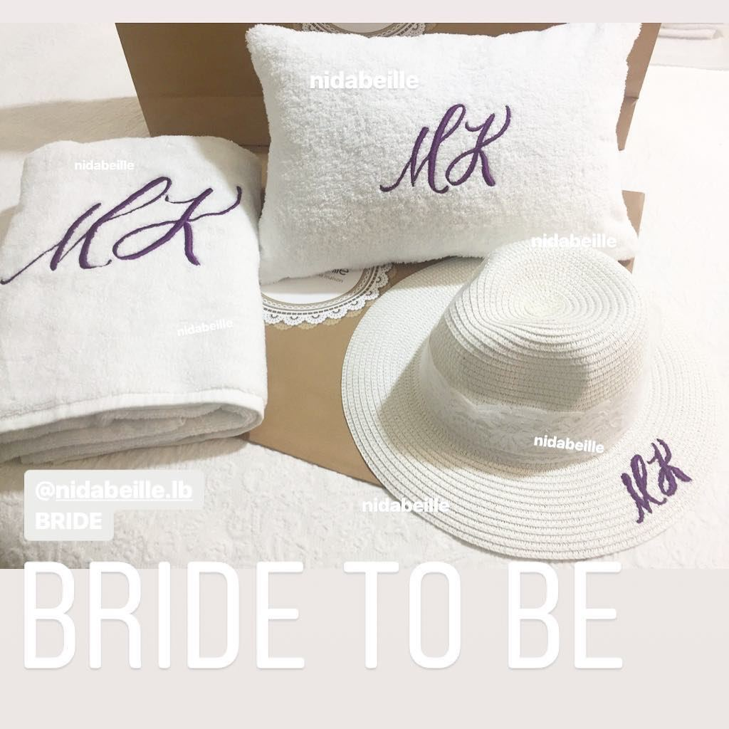 Bride to be beach set ☁️ Write it on fabric by nid d'abeille  white  lace ...
