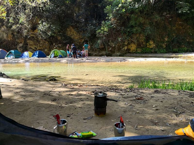 Love those  mornings  camping  campinglife  nescafe  7elo_ayloul  ...
