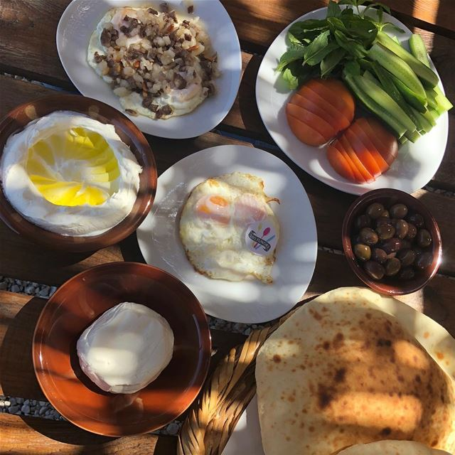 Morning specialties 😍😍 @sobhwmassa  ehden  liveloveehden ...... (Ehden, Lebanon)