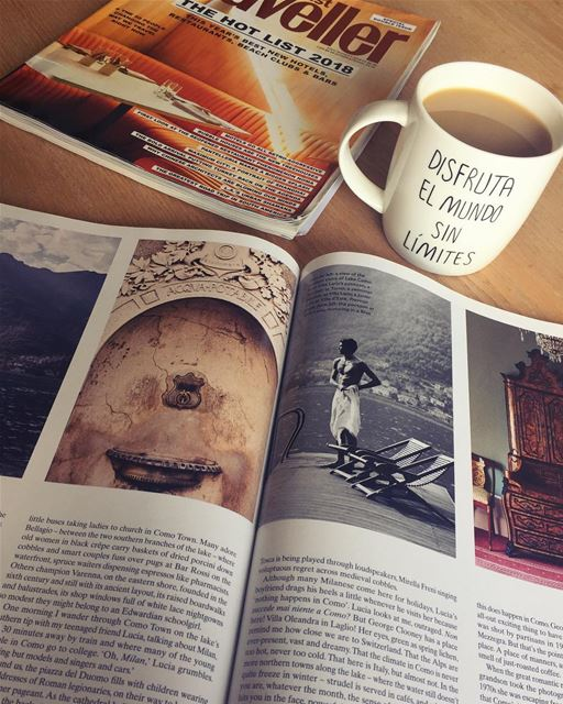 Beirut, Lebanon: It's a good morning ☀️Favorites: mug, magazine, Escape.@ (Beirut, Lebanon)
