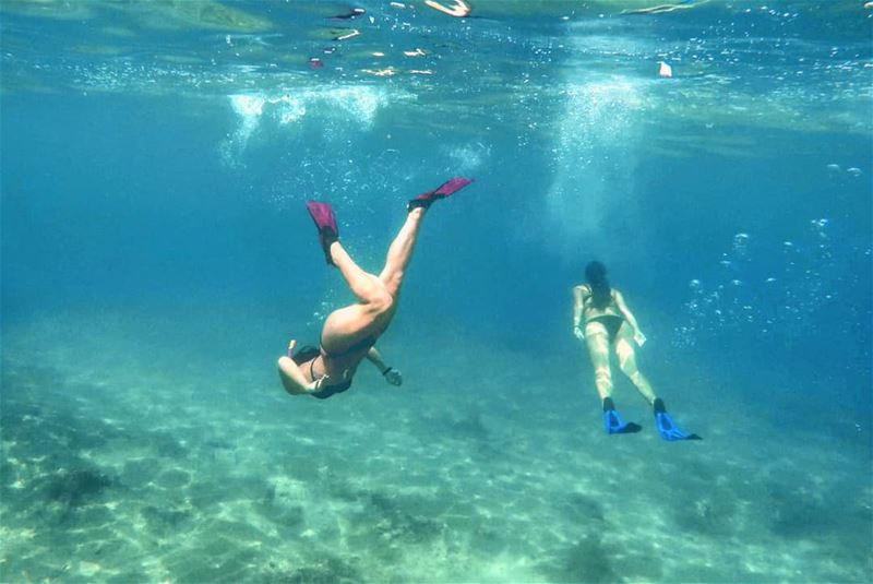 Escape...  explore  dream  discover  oceanlovers  diving  lebanon ... (Enfeh)