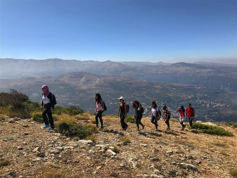 Climb Mountains not so the world can see you, but so you can see the world‼ (Hiking Lebanon)