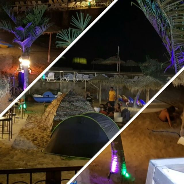 Making end of the summer memories by the beach  friends  family ... (Lamedina Hotel, Beach Club & Resort)