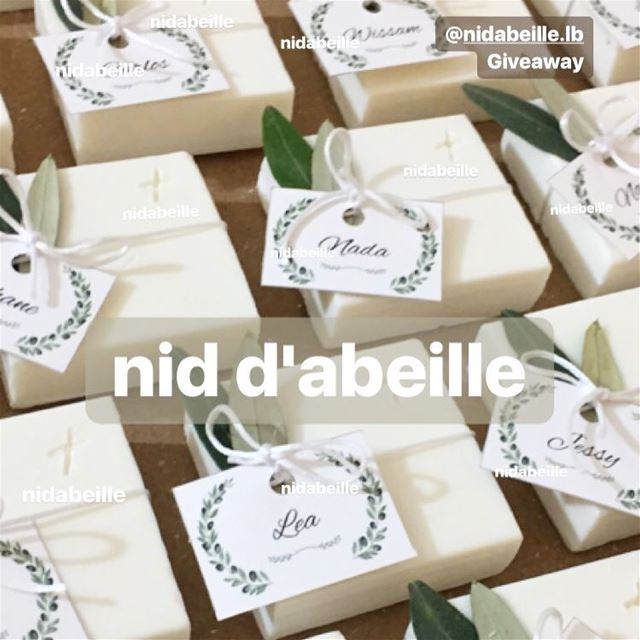 Handmade with love 🌿Blessed Baptism 😇 nid d'abeille  soap  personalised ...