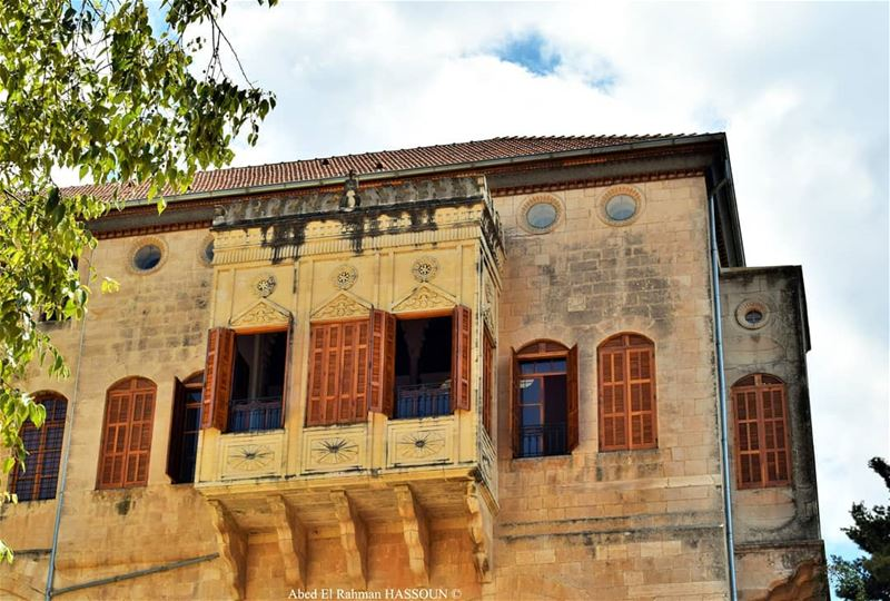 Good morning from El Mukhtara palace............. elchouf ... (El-Mukhtarah, Mont-Liban, Lebanon)