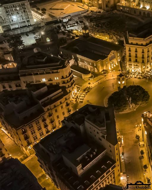 Swipe left⬅ enjoy the view. New pic from my collection of beirut aerial... (Martyrs' Square, Beirut)