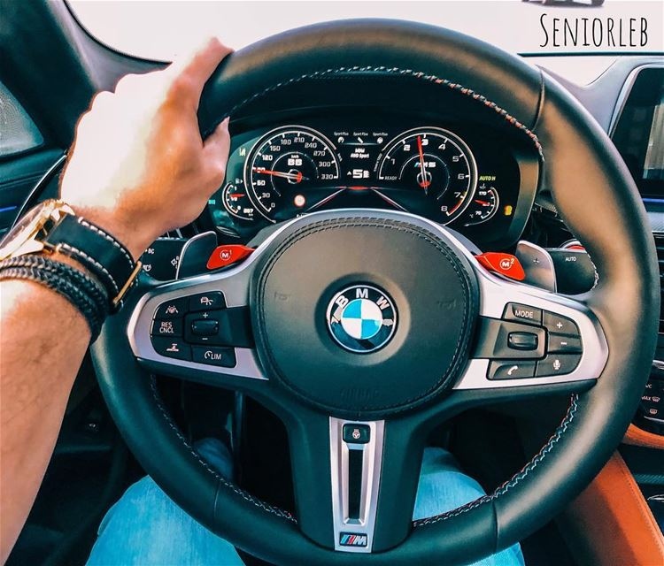 The new M steering wheel is better than ever 🔵🔴Ⓜ️———————————————————————— (Dubai, United Arab Emirates)