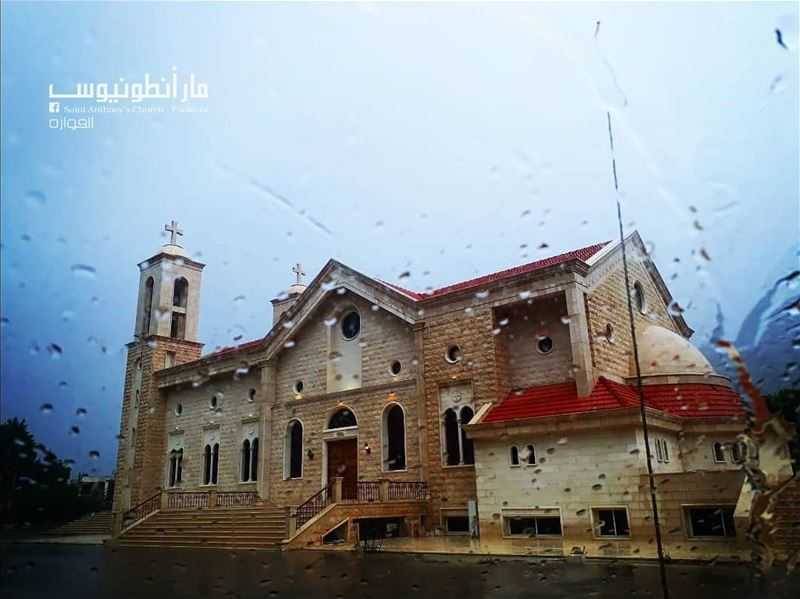 Our  church under the  rain saintanthonyfouwara  saintanthony  fouwara ...