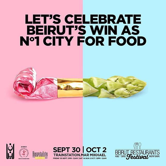 To all the foodies out there: heaven's an event on earth, and it's called the Beirut Restaurants Festival! Come on over and let the country's top chefs amaze you!
