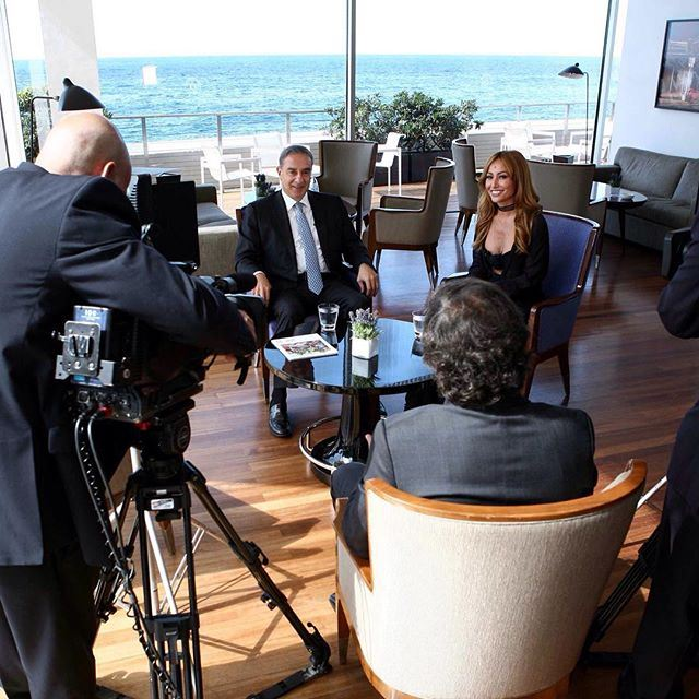 Here's a sneak peak from Sabrina Sato's interview with our Minister of Tourism Michel Pharaon 😍