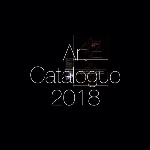 My latest Art Catalogue 2018 ready 🇬🇧  art  oilpainting  fineart ...
