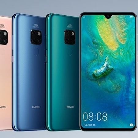 Huawei just revealed the all new Mate 20 series with 4 different mobile... (London, United Kingdom)