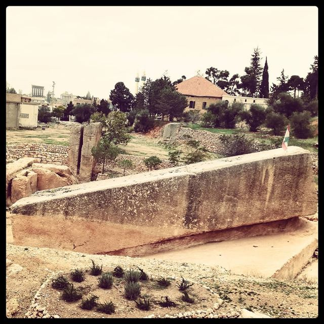 The many wonders of Heliopolis. tourismlb  tourlebanon  tourleb ... (Baalbek, Lebanon)