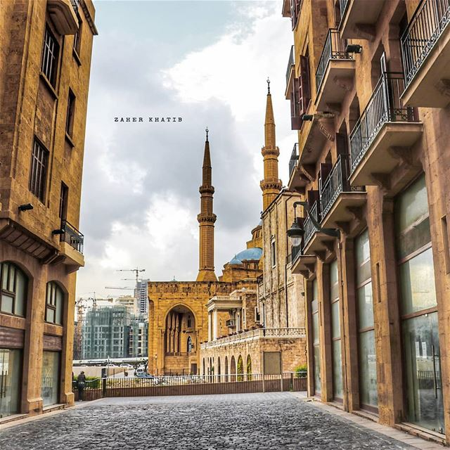 Start with what is right rather than what is acceptable. *  Franz Kafka *... (Downtown Beirut)