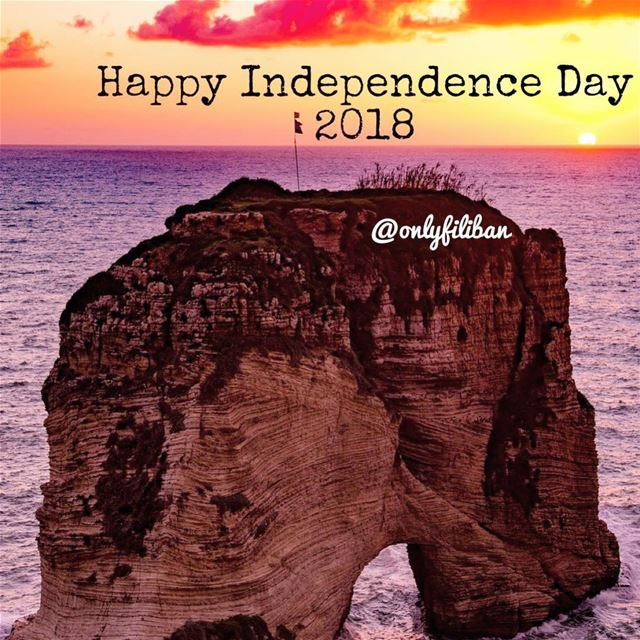 Happy Independence Day 2018 @onlyfiliban 🇱🇧🇱🇧🇱🇧__________________... (Lebanon)
