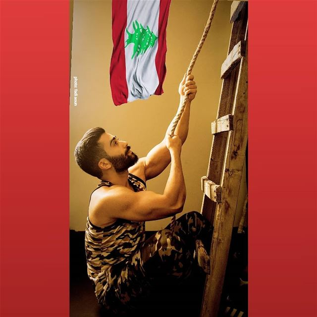One flag, One land, One heart, One hand, One Nation my beloved Lebanon ...