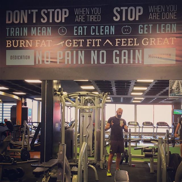 Don't stop...  me  gym  nopainnogain  sports  feelinggreat  lebanon  igers...