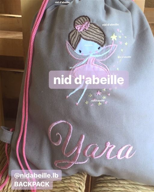 Make some magic 💖backpack! Write it on fabric by nid d'abeille  fairy ...
