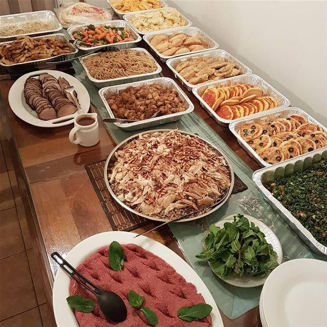 Family and Friends Mawlid 🌙On the Menu🔸️Tabbouli🔸️Roasto with pasta, (Greater Montreal)
