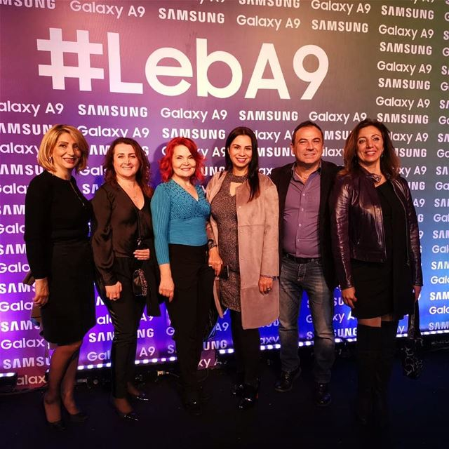 Attending  samsung  lebA9  device launching event  mobile  galaxyA9 ... (The One- Biel)