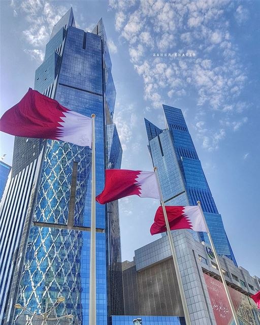 🇶🇦🇶🇦 National day's Spirit 🇶🇦🇶🇦🇶🇦 * amazing_qatar  qatarism ... (Doha)