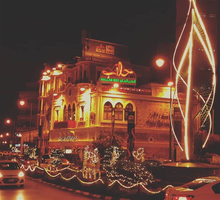 Christmas vibes from Tripoli........... christmas ... (Abdul Rahman Hallab & Sons)