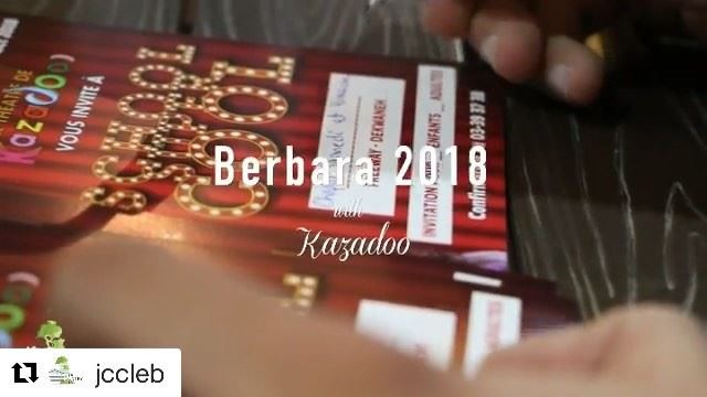 Berbara 2018 at JCC with @kazadoo 🎉 •🎥 by @krystelkoussaphotography •📱+9 (Jeita Country Club)