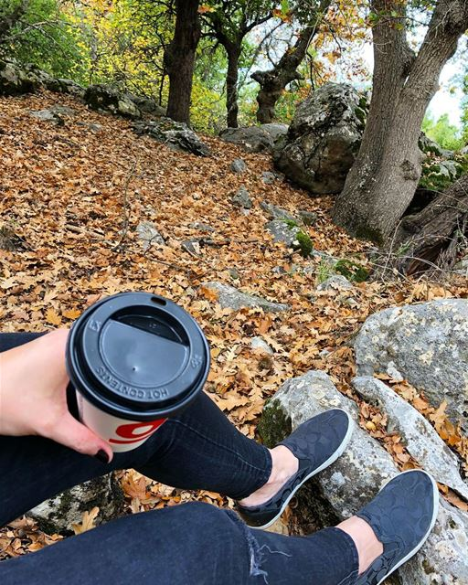 Wake up and smell the inspiration ☕️🍁☕️🍂...... hiking🌲 ...