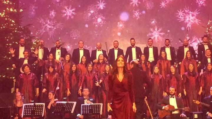 It's definitely the best Christmas concert ever!! Especially when the... (Saydet Al Mantara Maghdouche)