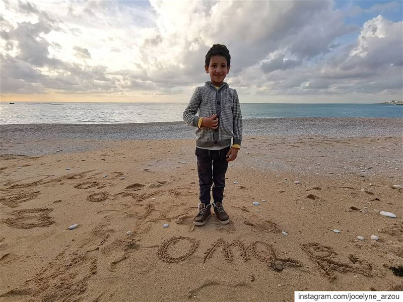 OMaR 💓... posingforaphoto omar  happy  kid  freesoul  innocent  pure... (Byblos - Jbeil)